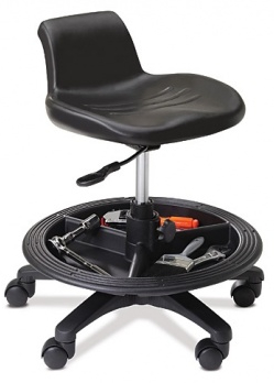 The Office Master WS15 sit to stand perching stool is a great solution for  art  design or drafting desks  Also perfect for line work  at work benches  and in  Home Page. Garage Chairs Stools. Home Design Ideas